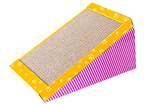 Kratzbrett aus Pappe mit Katzenminze Scratch-N-Play 47 x 25 x 25 cm