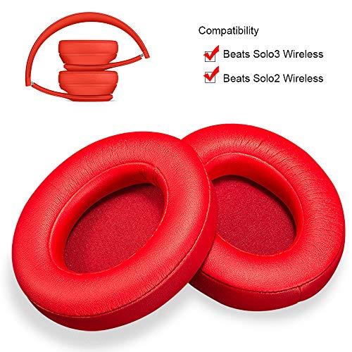 Cuscinetti auricolari di ricambio per cuffie Beats Solo 2 o Solo 3 Wireless, 1 paio