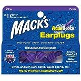 Mack's Aqua Block Ear Plugs (2 Pair) - Clear