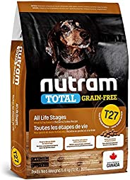 Nutram T27 Total Grain-Free Small Breed Chicken & Turkey Dog Food, 5