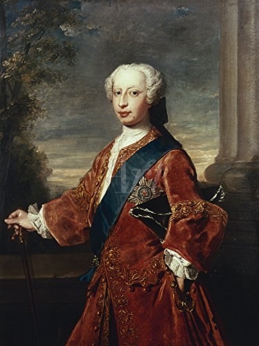 Artland Alte Meister Bild Philippe Mercier Wandbild 60 x 45 cm Frederick Lewis Prinz von Wales...