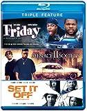Friday & Menace II Society & Set It Off [Blu-ray] [Import anglais]