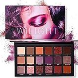 18 Colori Ombretto Tavolozza Trucco Beauty TY Opaco Shimmer Pigmentato Crepuscolo e Crepuscolo Ombretto in polvere (A2)