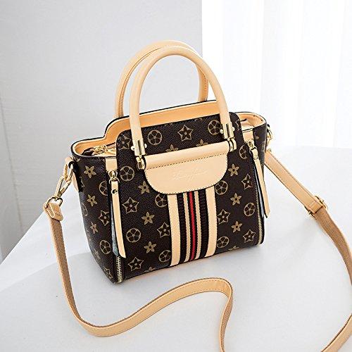 TSLX Der neue Stil der einzelnen Schulter Handtasche ist in Mode in Europa und Amerika Apricot