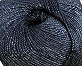 #8: WOA Fashions Acrylic Nylon Hand Knitting Yarn - Pack of 4 (Mouse Grey)