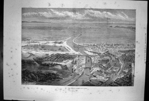 une-rue-au-caire-par-la-couleur-deau-de-mail-de-cercueil-de-hildebrandt-1867