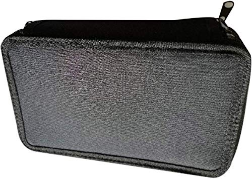 Jyuesi Superior Federmäppchen, 3-lagig, große Kapazität, Schreibwaren, Aufbewahrungstasche, Bleistiftbox, Schulbedarf BK