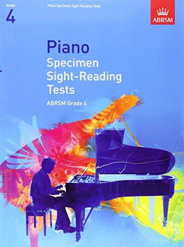 Piano Specimen Sight-Reading Tests, Grade 4 (ABRSM Sight-reading) by ABRSM (3-Jul-2008) Sheet music