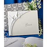 Gifts and Favours - Libro de invitados de boda, diseño de flor de calla