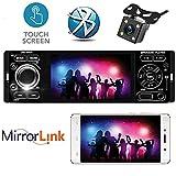 PolarLander 4 Zoll Touchscreen Mirrorlink Autoradio Audio Bluetooth Autoradio Stereo MP5 MP4 USB MP3 TF 1 Din In Dash