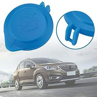 Swiftswan Kappe Deckel Scheibenwischer Clean Fluid Reservoir Windschutzscheibe Abdeckung Für Peugeot Für Citroen (Farbe: Blau)