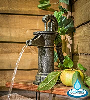 36cm Old Tap Water Feature by Ambienté from Primrose