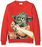 LEGO Wear Jungen Sweatshirt Star Wars Yoda Skeet 850, Gr. 134, Rot (Red 359)
