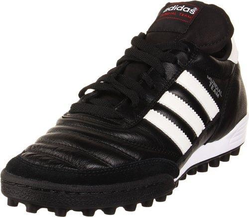 adidas Performance Mundial Team Turf Fußballschuh, Schwarz (Black/Running White), 4 M US -