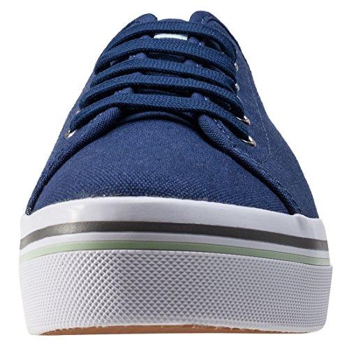 Fred Perry Phoenix Flatform Damen Sneaker Blau Blau