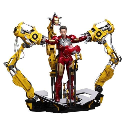 """[Pel?cula obra maestra] """"Iron Man 2"""" figura escala 1/6 Powered m?quina de montaje Suit (con la figura) (jap?n importaci?n)"""