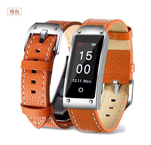 Miya® Sport Intelligentes Sportarmband Smart Watch Wasserdicht IP67 orange