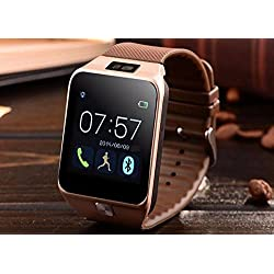 Sony Live with Walkman Compatible Bluetooth Smart Watch All 2G 3G 4G Phone With Camera and Sim Card Support With Apps like Facebook and WhatsApp Touch Screen Multilanguage Android/IOS with activity trackers and fitness band features by mobicell