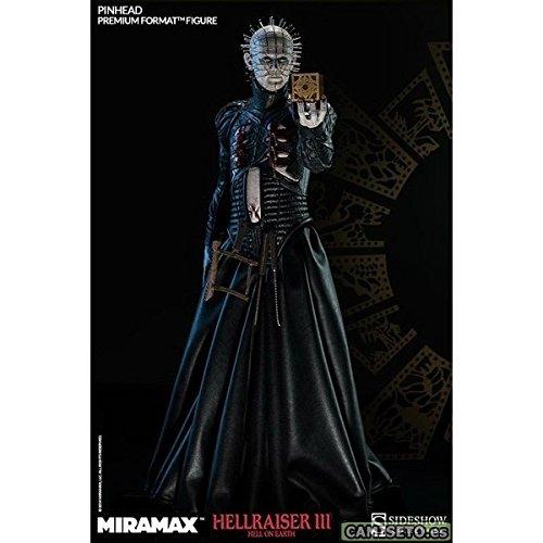 (Sideshow Collectibles Pinhead Hellraiser III Premium Format Figur (schwarz))