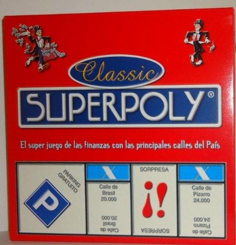 081| SUPERPOLY EL JUEGO DE MONOPOLIO/MONOPOLY DE TODA LA VIDA, EUROS
