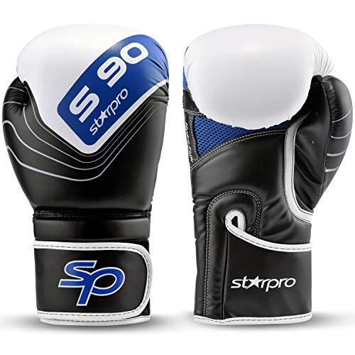 Boxhandschuhe, Aero Tech-Technologie, Sparring-Trainingshandschuhe, Kickboxen, Boxsack, Kampfhandschuhe, Muay Thai, Verwendung für Sport- und Outdoor-Spiele für Damen und Herren (12oz) (Boxhandschuhe Spielen)