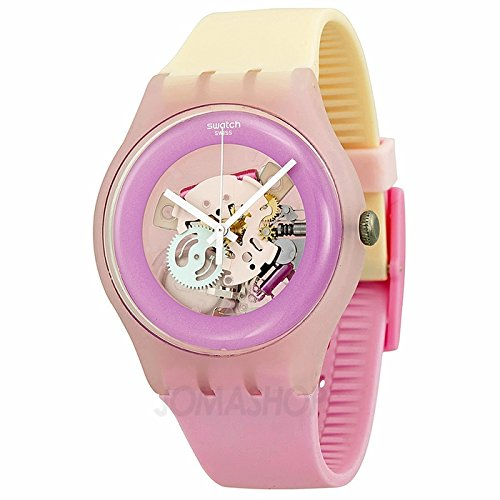 Swatch SReloj Originales dulce Me Damas Reloj SUOP101