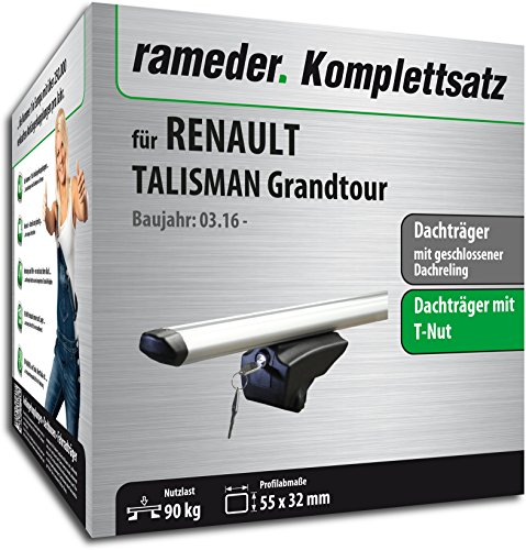 Rameder Komplettsatz, Dachträger Pick-Up für Renault Talisman Grandtour (111287-36208-50)