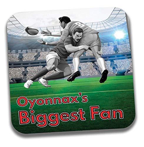 Oyonnax's Biggest Fan Rugby Untersetzer - Geburtstagsgeschenk/Strumpffüller