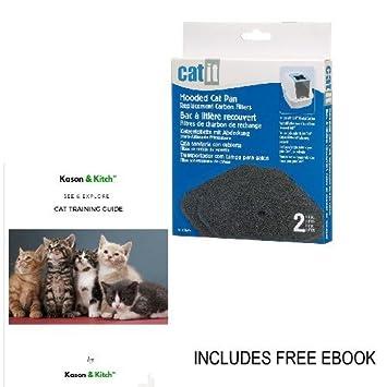 litiere chat filtre charbon