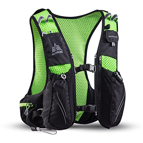 Imagen de aonijie 10l ligero resistente al agua  de esquí  de running marathon ciclismo bolsas running chaleco eléctrica bolsa de deporte negro xl/xxl  alternativa