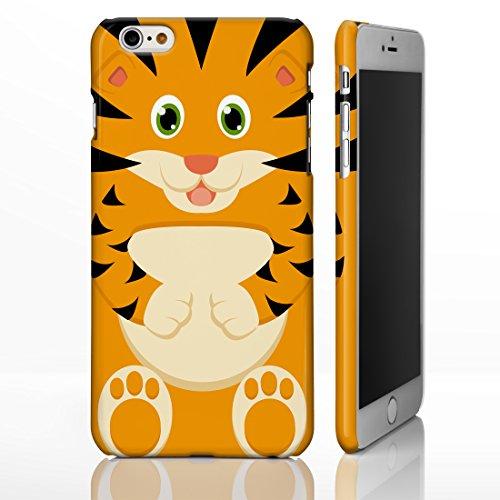 Cute Animal Fällen für das iPhone Range. unwiderstehliche Creature Cartoon Bezüge, plastik, 5. Tiger, iPhone 6 Plus (Furry-fälle Für Iphone 4)