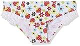 Losan Baby-Mädchen Bikinislip 818-4008AD, Weiß (Blanco 001), 80 cm (Herstellergröße:9M-12M)