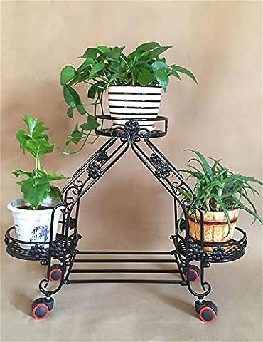 cdblchandelier Flower Rack / Indoor European Style Movable Iron Blumenregal