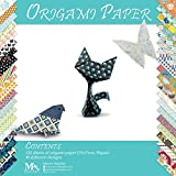 51cAD1gsDOL. SL160  BEST BUY #1Origami Paper Set   120 Sheets   Traditional Japanese Folding Papers including Floral, Animal Prints, Aztec, Geometric  Origami Flowers, Crane, Owl, Dragon, Animals  Origami papers for Kids and Adults price Reviews uk