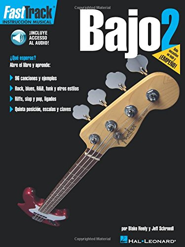 Fast Track Bajo 2 Bass Guitar (Book/Cd Spanish Edition) (Fast Track (Hal Leonard))