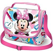 5e2cf9920 Karactermania Minnie Mouse School Bolsa Escolar, 24 cm, Rosa