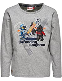 Lego Wear Nexo Knights Teo 203-Langarmshirt, Hauts à Manches Longues Garçon