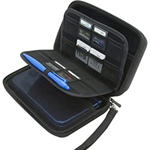 BENDO New Nintendo 3DS XL / 3DS XL / 3DS Hard Case with 24 Game Cartridge Holders