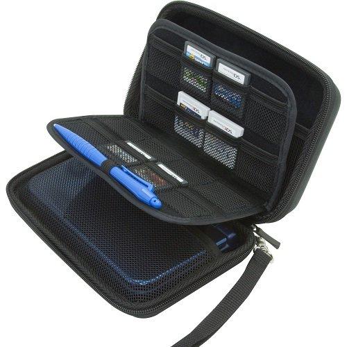 DS XL / 3DS XL / 3DS Hard Case/Tasche with 24 Game Holders (New Nintendo 3ds Xl Grün)
