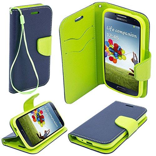 P.T.H.GSM Fancy Book Cover Custodia - Sony Xperia Xa Ultra Blu-limone