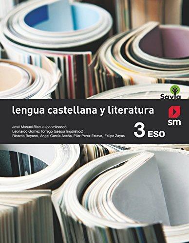 Lengua castellana y literatura. 3 ESO. Savia - 9788467576207 por Ángel L. García Aceña