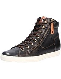 Paul Green 4539-273 Damen Sneaker aus Lackleder Lederfutter und Lederinnensohle