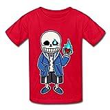 Rose Memery T-shirt enfant Undertale -  rouge - M