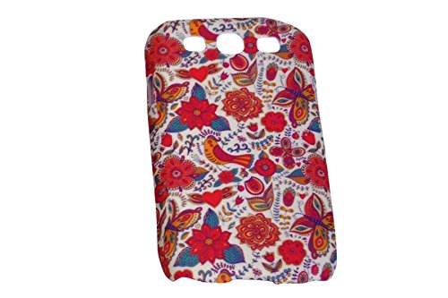 Floral Fashion Designer Print Snap-On Hard Slim Back Flexible Bumper Case Cover For Samsung Galaxy S3 i9300  available at amazon for Rs.149
