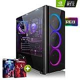 Megaport High End PC Gamer Intel Core i5-9600K 6X 3.70GHz • GeForce RTX2070 8Go • 480Go SSD • 16Go DDR4 • 1 to • Windows 10 • WiFi Ordinateur de Bureau PC Gaming PC Ordinateur Gamer Ordinateur