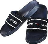 Tommy Jeans Summer Slide Badeschuhe Black Iris