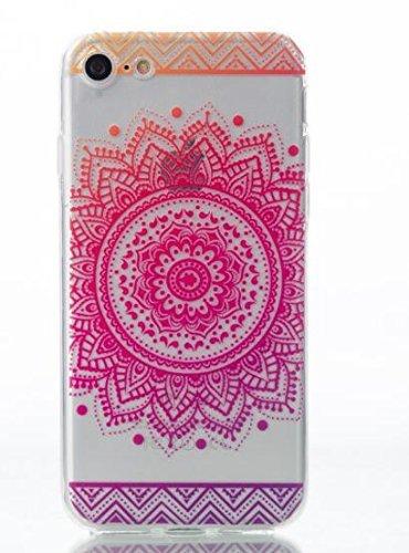 Cover Per iPhone 4S,Hippolo Custodia Protettiva Shell Case Cover Per iPhone 4S in Silicone TPU (Per iPhone 6/6S Plus 5.5, 3) (Per iPhone 4S, 6) 2