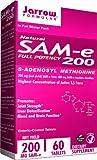 Jarrow Formulas, Natural SAM-e 200, 200mg 60 enteric coated Tablets