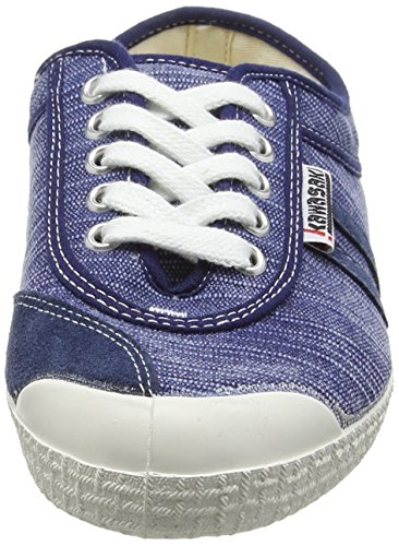 Kawasaki Retro Stich, baskets sportives mixte adulte bleu (SCRATCHY 2)