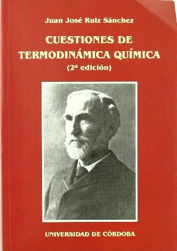 Cuestiones de termodinámica química por J.J. Ruiz Sanchez